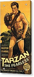 Tarzan The Fearless  Acrylic Print