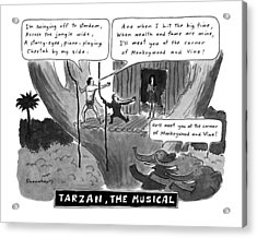 Tarzan The Musical Acrylic Print