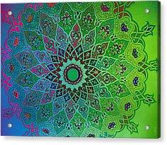 Tashkent Blossoms Acrylic Print
