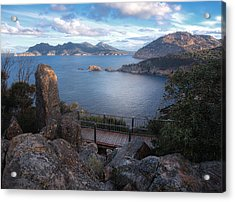 Tasmania The Beautiful State Acrylic Print