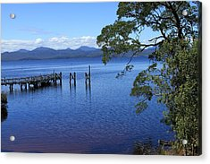 Tasmanian Stillness All Profits Go To Hospice Of The Calumet Area Acrylic Print
