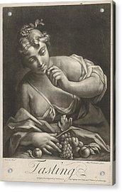 Taste, Alexander Van Haecken, T. Jefferys Acrylic Print