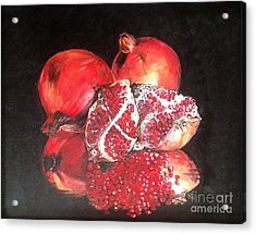 Taste Of Red Acrylic Print