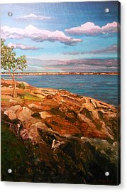Acrylic Print featuring the painting Taste Of Southcoast by Ray Khalife
