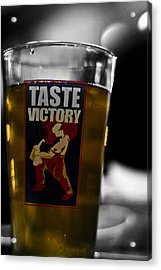 Taste Victory Acrylic Print by Zachary Hitchcock