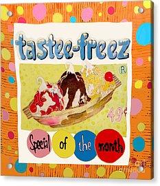 Tastee Freez Acrylic Print