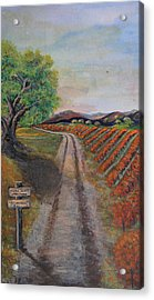 Tasting Room Acrylic Print by Dixie Adams