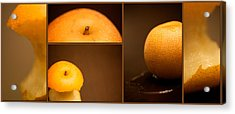 Tasty Pear Acrylic Print by Lisa Knechtel