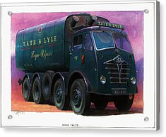 Tate And Lyle Foden. Acrylic Print by Mike  Jeffries