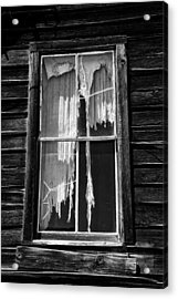 Tattered And Torn Acrylic Print by Cat Connor