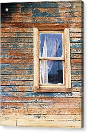 Tattered Acrylic Print by Anna Villarreal Garbis