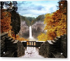 Taughannock Falls 2 Acrylic Print by Jessica Jenney
