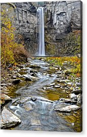 Taughannock Falls Acrylic Print by Frozen in Time Fine Art Photography