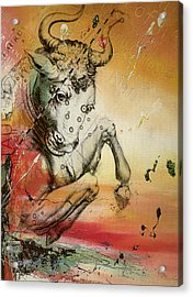 Taurus  Acrylic Print by Corporate Art Task Force