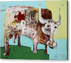 Taurus No 4 Acrylic Print by Mark M  Mellon