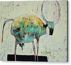 Taurus No 6 Acrylic Print by Mark M  Mellon