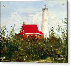 Tawas Acrylic Print by Lee Piper