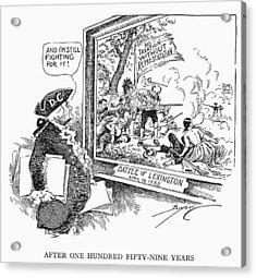 Taxation Cartoon, 1934 Acrylic Print by Granger