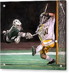 Taylor Lacrosse 2 Acrylic Print by Scott Melby