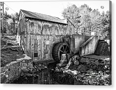 Taylor Sawmill - Derry New Hampshire Usa Acrylic Print by Erin Paul Donovan