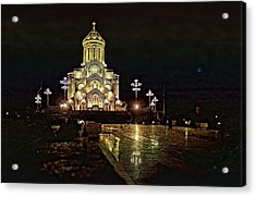 Tbilisi Church Acrylic Print