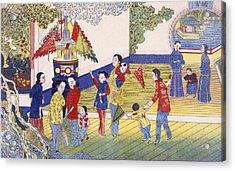 Tchoung Tsieou Chang Yu? Acrylic Print by Chinese School