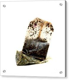 Tea Bag Acrylic Print by Bernard Jaubert