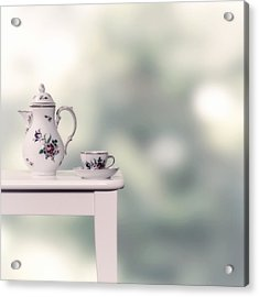 Tea Cup And Pot Acrylic Print by Joana Kruse