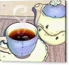 Tea For One Acrylic Print