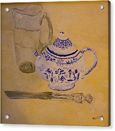Tea Kettle Acrylic Print