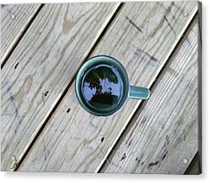 Tea Leaves Acrylic Print