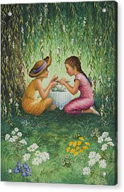 Tea Party Acrylic Print by Lynn Bywaters