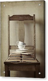 Tea Tales Acrylic Print by Amy Weiss