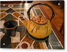 Acrylic Print featuring the photograph Tea Time In Asia by Robert Meanor