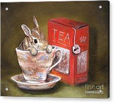 Tea Time Acrylic Print by Stella Violano