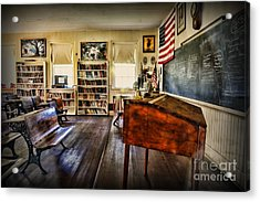 Teacher - One Room School Acrylic Print