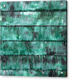 Teal Water Panels Acrylic Print