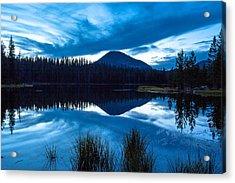 Teapot Lake Acrylic Print by Darryl Wilkinson