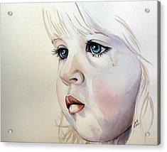 Tear Stains Acrylic Print
