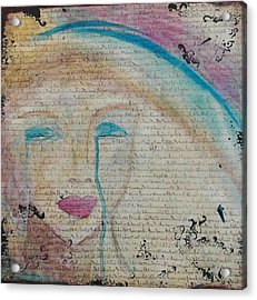 Tears Of Hope Acrylic Print by Debbie Hornsby