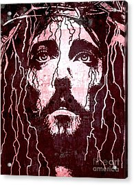 Tears Of Jesus Acrylic Print by Michael Grubb