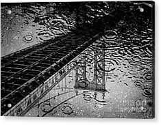 Tears Of New York Acrylic Print by Az Jackson