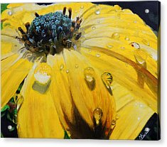 Tears Of The Sun Acrylic Print by Maritza Tynes