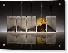 Teascape Acrylic Print by Wieteke De Kogel