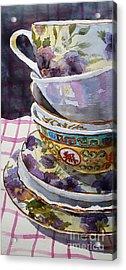 Teatime Acrylic Print by Marisa Gabetta