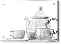 Teaware Acrylic Print