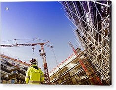 Technology And Construction Instrument Acrylic Print