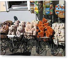 Acrylic Print featuring the photograph Teddy by Art Photography