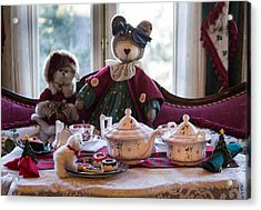 Teddy Bear Tea Party Acrylic Print