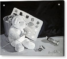 Teddy Behr The Painter #2 Acrylic Print by Dan Redmon